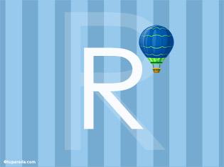 Inicial R - Deco