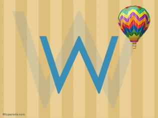 Inicial W - Deco