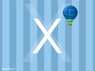 Inicial X - Deco