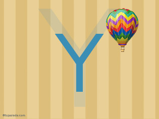 Inicial Y - Deco
