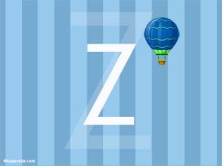 Inicial Z - Deco