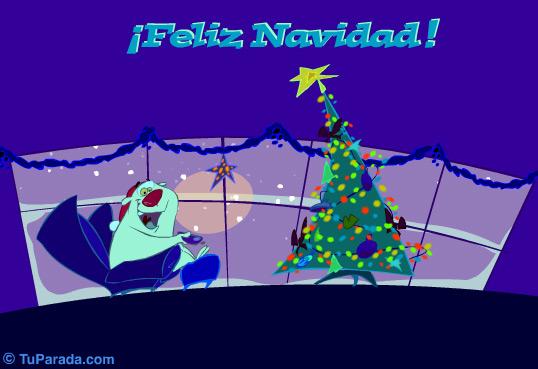 Tarjeta - Saludo navideño con humor