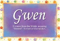 Name Gwen