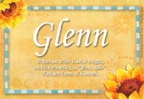 Name Glenn