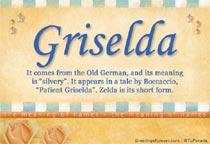 Name Griselda