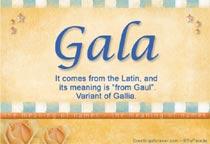 Name Gala