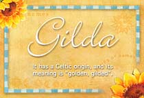 Name Gilda