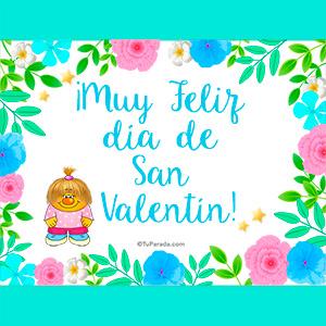 Muy feliz día de San Valentín