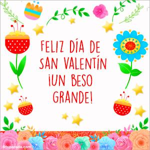 Imagen de feliz día de San Valentín