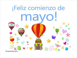 Feliz comienzo de mayo