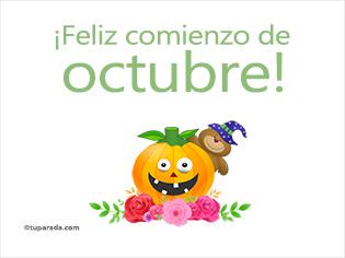 Feliz comienzo de octubre