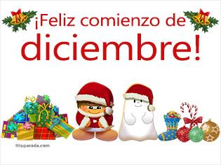 Feliz comienzo de diciembre