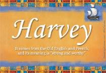 Name Harvey