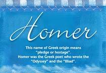 Name Homer