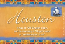 Name Houston