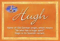 Name Hugh