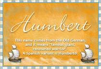 Name Humbert