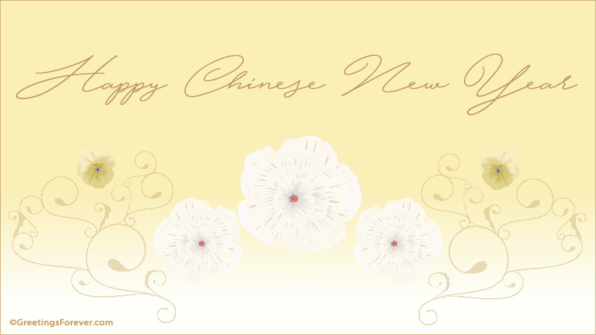 Ecard - Happy chinese new year egreeting