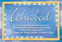 Name Ichabod