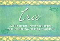 Name Ira