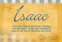 Name Isaac