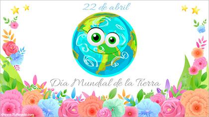 Tarjeta de Día de la Tierra