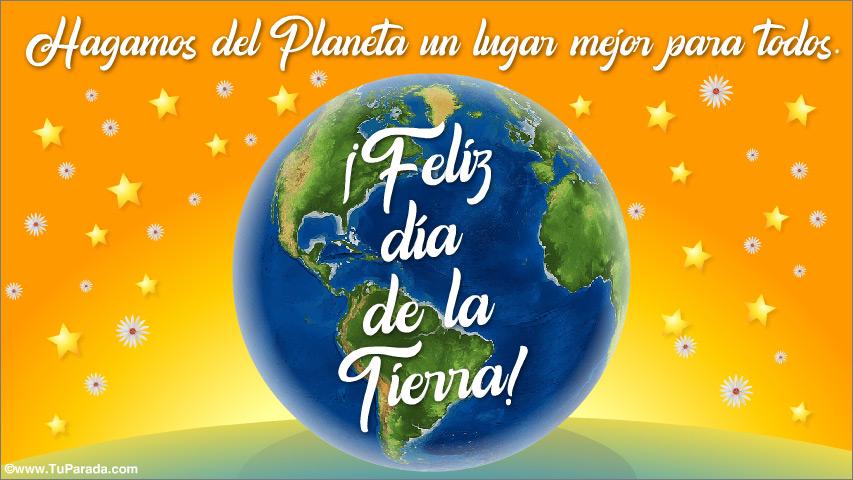 Tarjeta - Día Internacional de la Tierra