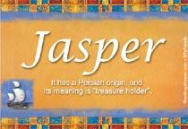 Name Jasper