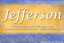 Name Jefferson