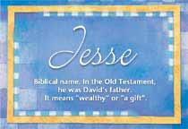 Name Jesse
