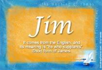 Name Jim