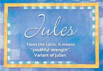 Name Jules