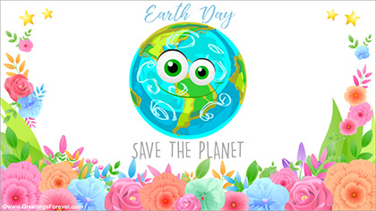 Happy Earth Day ecard