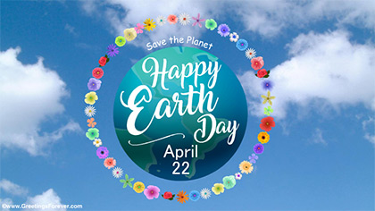 International Earth Day ecard
