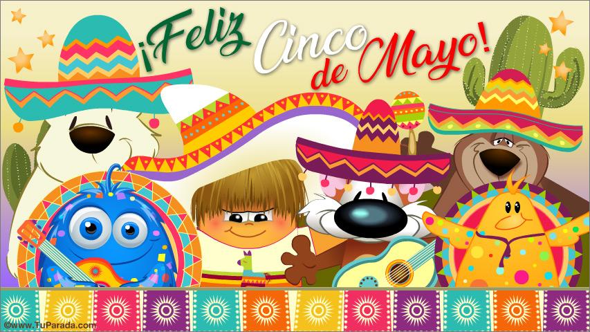 Tarjeta - Cinco de Mayo