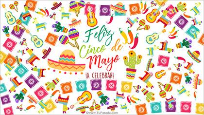 Tarjeta de Cinco de Mayo