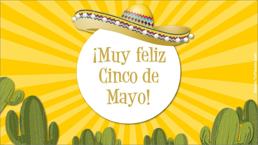 Tarjeta - Cinco de Mayo en México