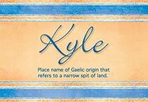 Name Kyle