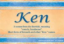 Name Ken