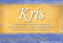 Name Kris