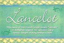 Name Lancelot