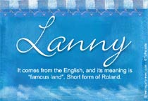 Name Lanny