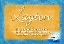 Name Layton
