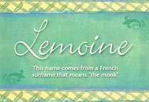 Name Lemoine