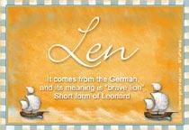 Name Len