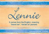 Name Lennie