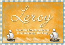 Name Leroy