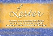 Name Lester