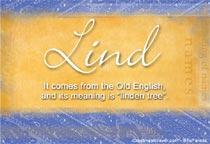Name Lind