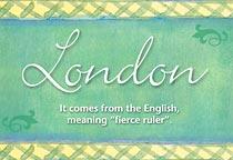 Name London